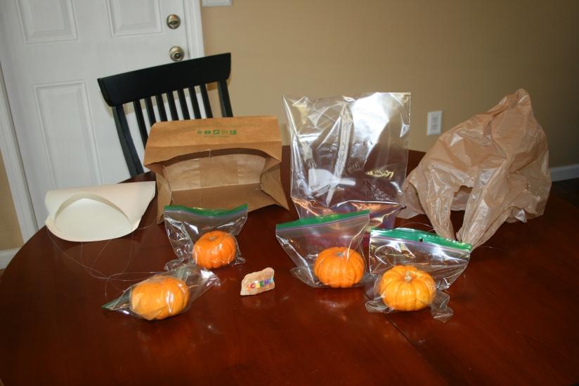 Pumpkin Parachutes