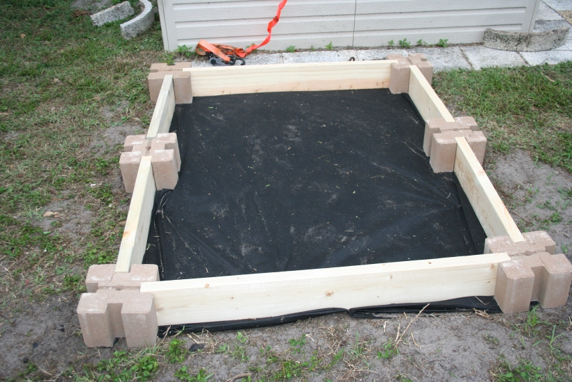 DIY Two Tiered Raised Garden Bed (11)