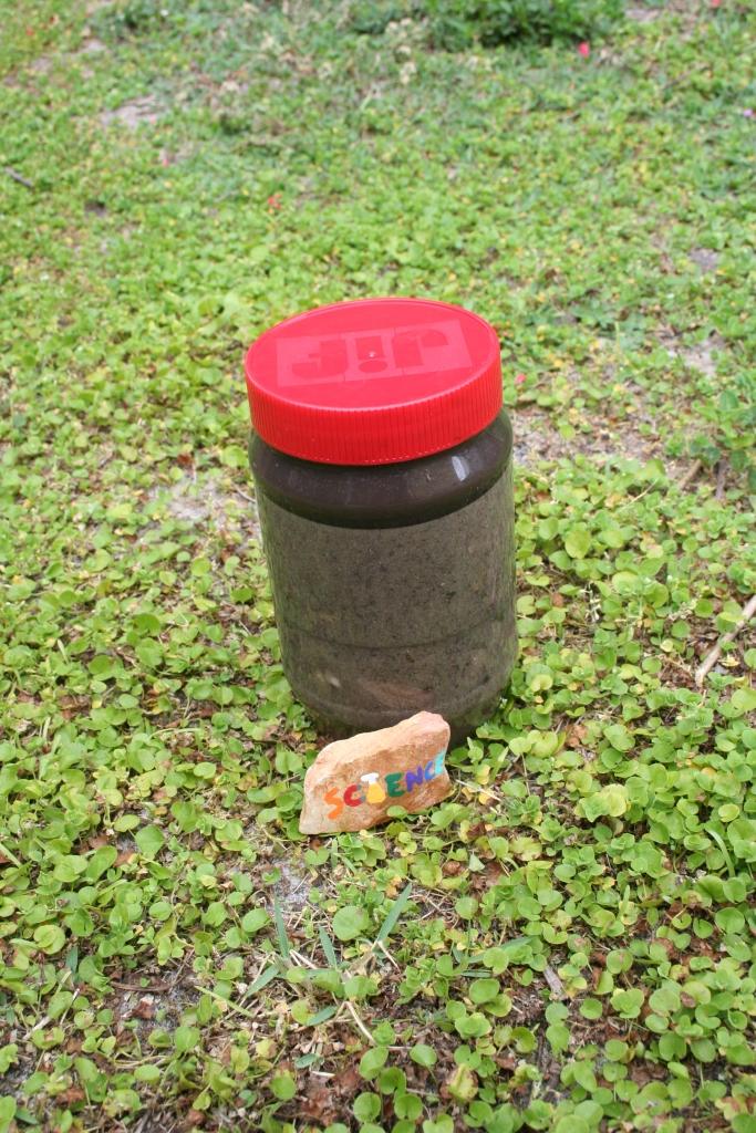 Earthquake in a Jar
