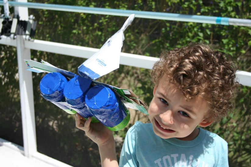 Recyclable Sailboat Build