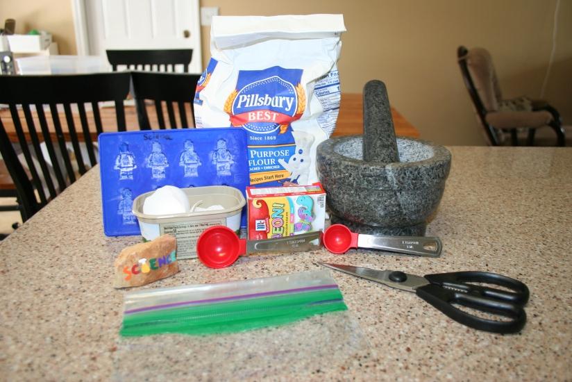 DIY Chalk from Eggshells (4)