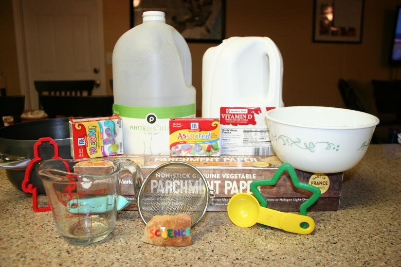 Making Plastic from Milk and Vinegar (8)